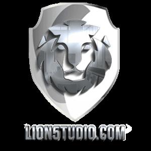 Logo Lion5tudio Silver