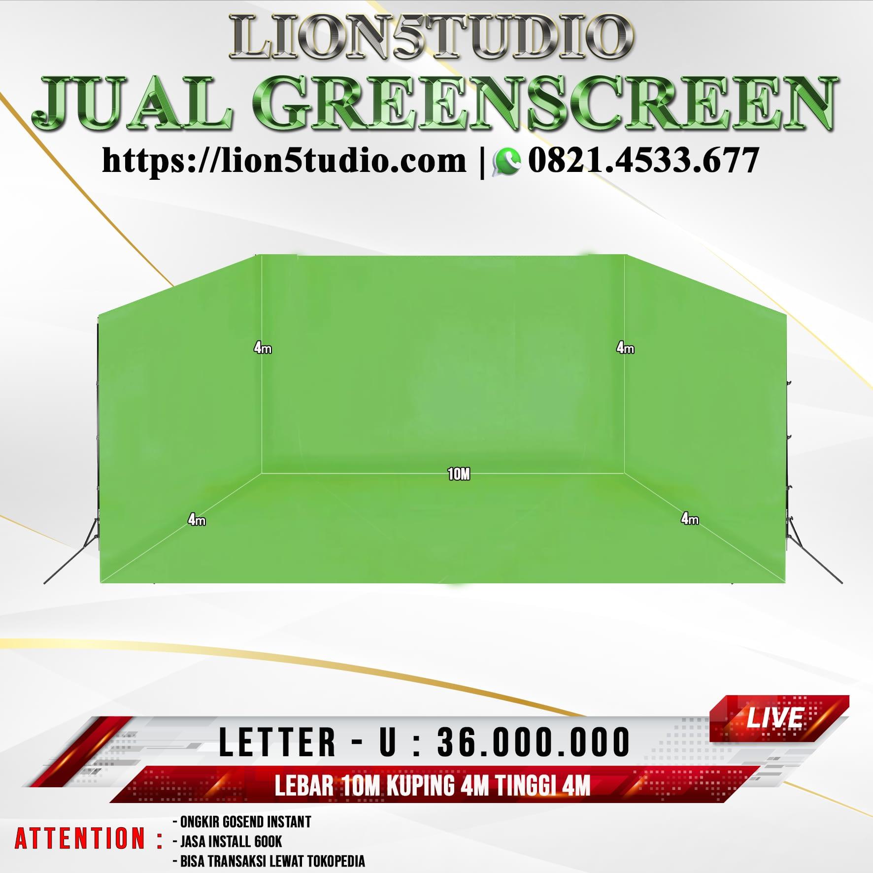 Pricelist Jual Greenscreen Murah Jakarta Bandung
