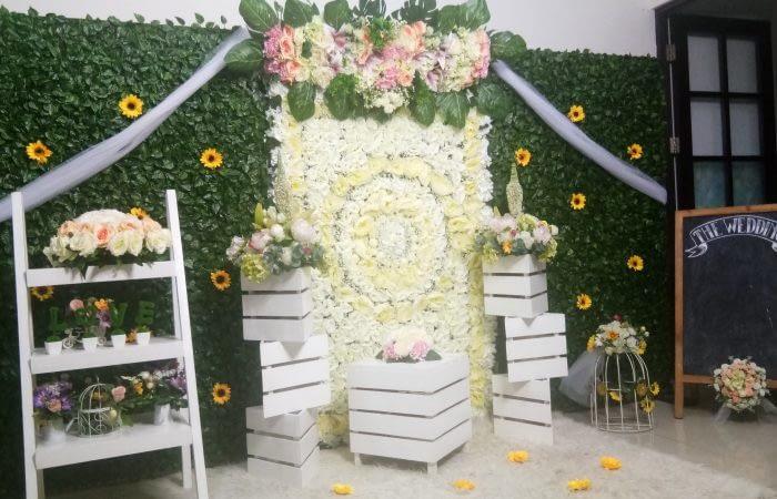 jasa sewa dekorasi photobooth pernikahan murah