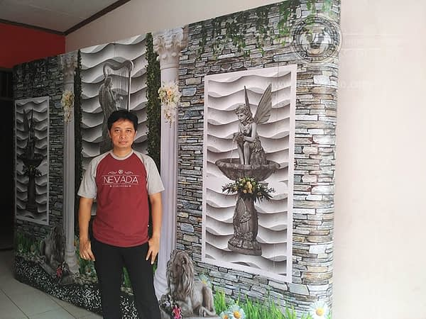 Sewa Backwall Murah